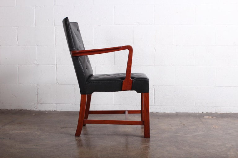 Leather Armchair by Jacob Kjær For Sale