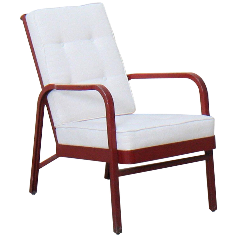 Armchair by Jean Prouvé and Jules Leleu