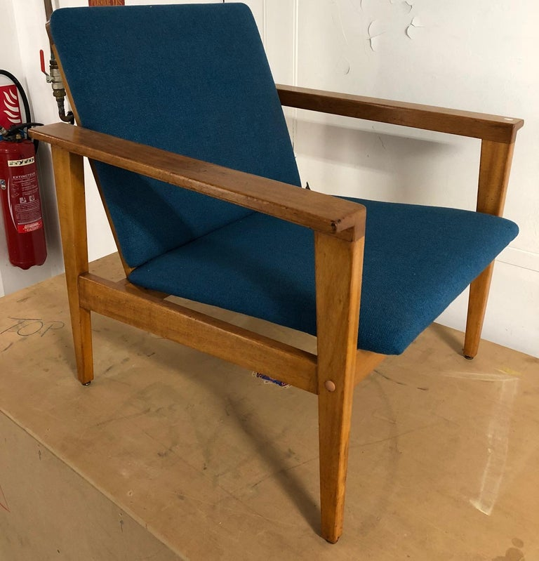 Armchair, linha Prefa for Moveis Olaio. Designed in 1961 by José Espinho. Portugal, 1960s.