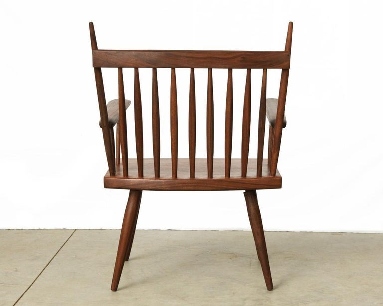 American Armchair in Walnut by Michael Rozell, USA, 2021 For Sale
