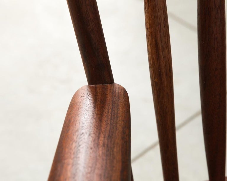 Armchair in Walnut by Michael Rozell, USA, 2021 For Sale 2