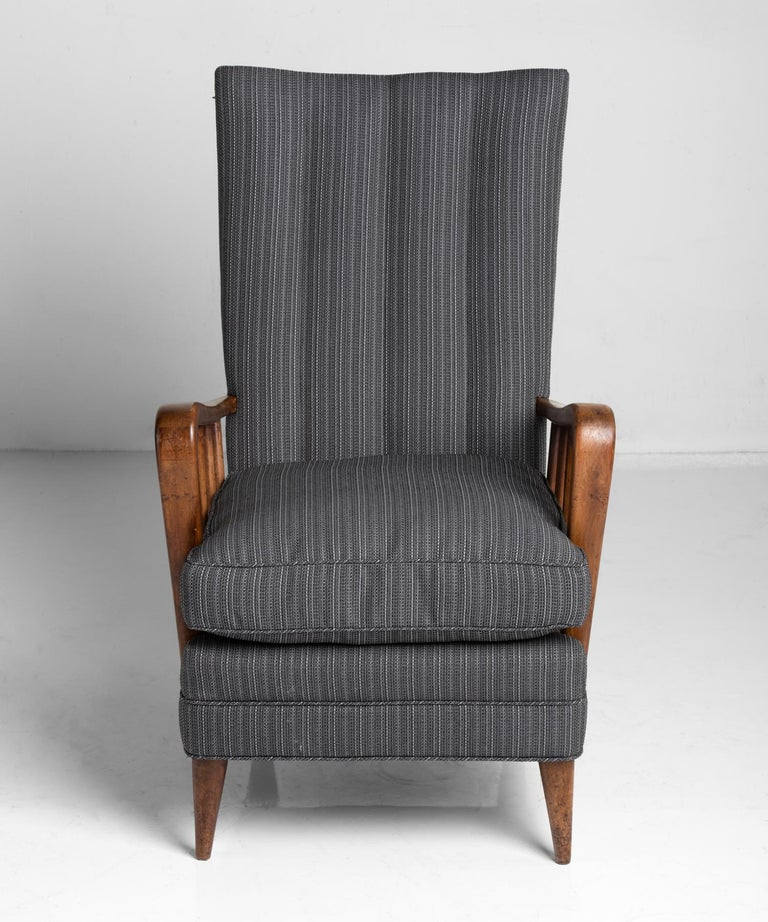 Italian Armchair by Osvaldo Borsani, Italy, circa 1950 For Sale