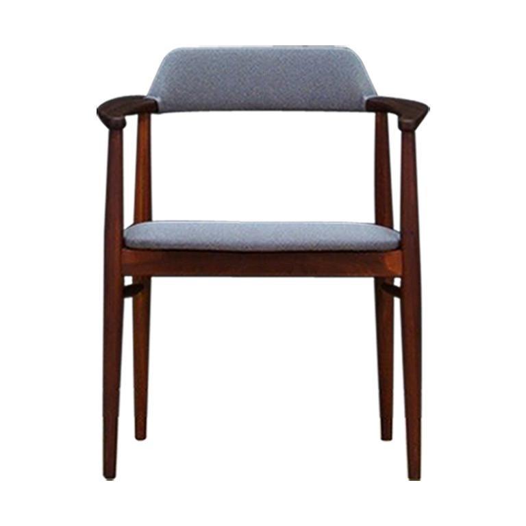 Vintage Teakholz Sessel Im Dänischen Design 1960 1970 Im Angebot