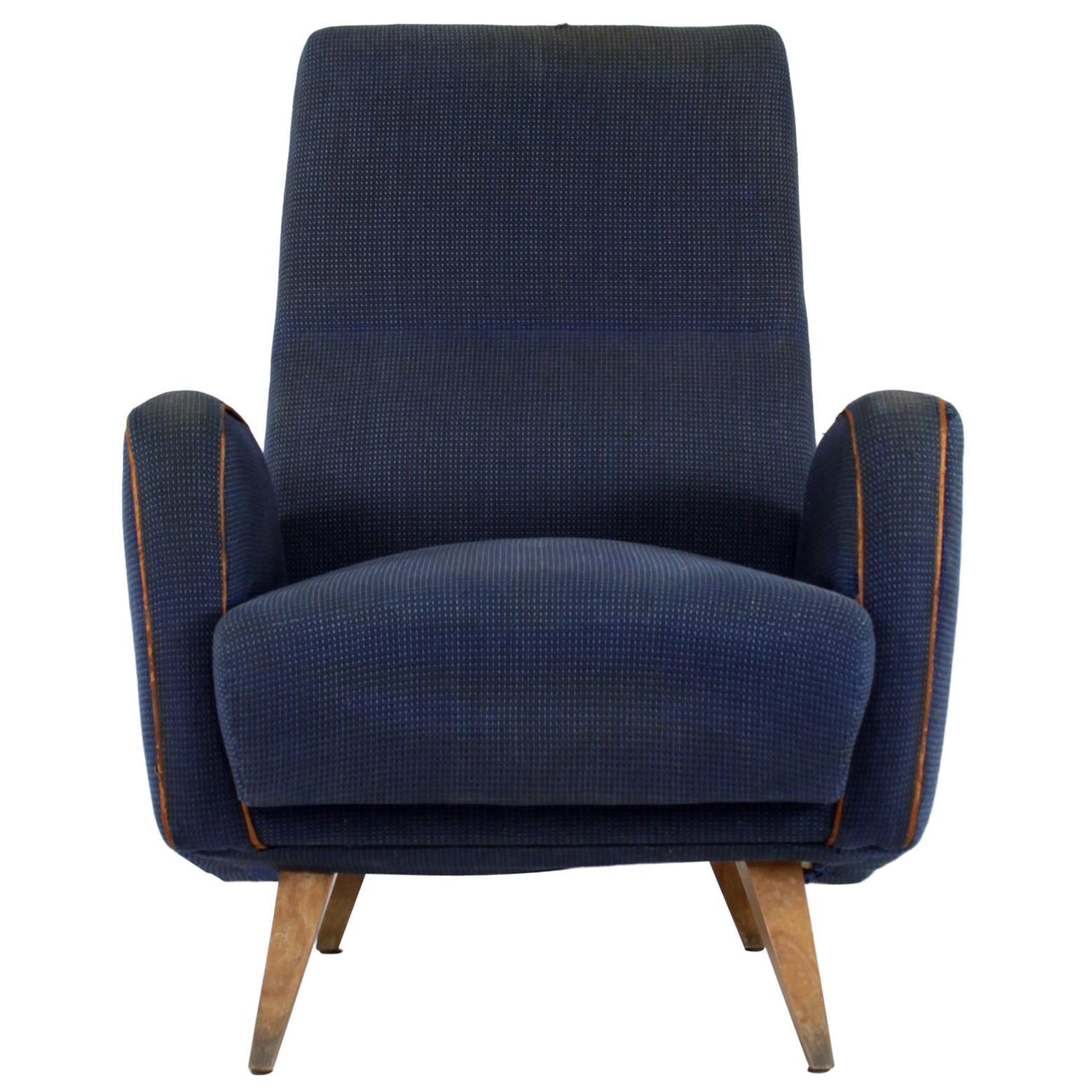 Armchair, Design by Nino Zoncada, Italy, 1950s