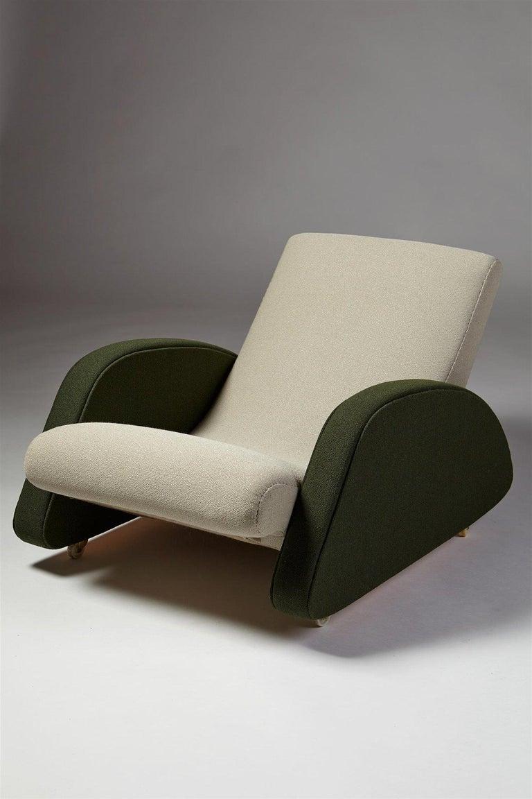 Scandinavian Modern Armchair Designed by Bo Wretling for Otto Wretling, Sweden, 1930s For Sale