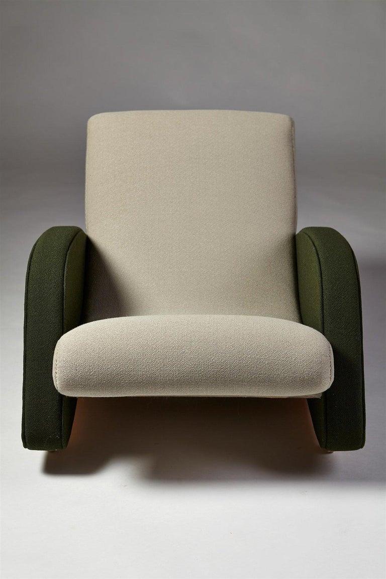 Swedish Armchair Designed by Bo Wretling for Otto Wretling, Sweden, 1930s For Sale