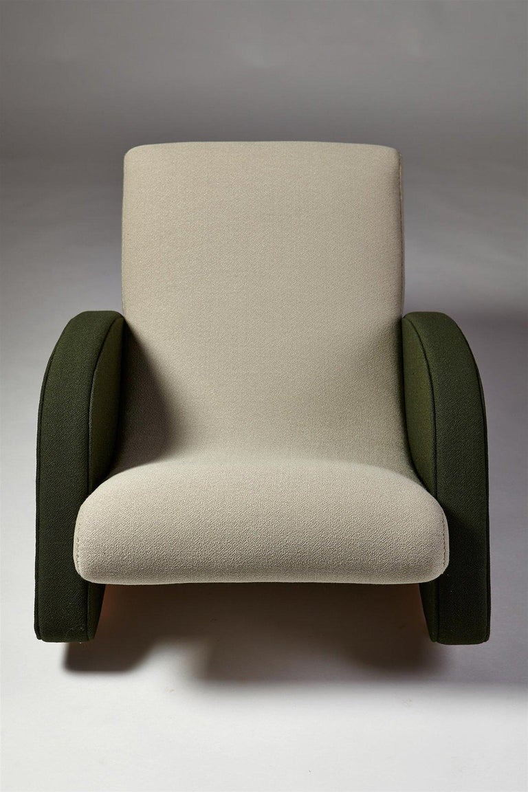 Armchair Designed by Bo Wretling for Otto Wretling, Sweden, 1930s In Excellent Condition For Sale In Stockholm, SE