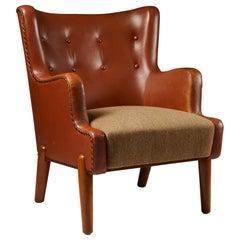 Armchair Designed by Eva and Nils Koppel, Denmark, 1950s