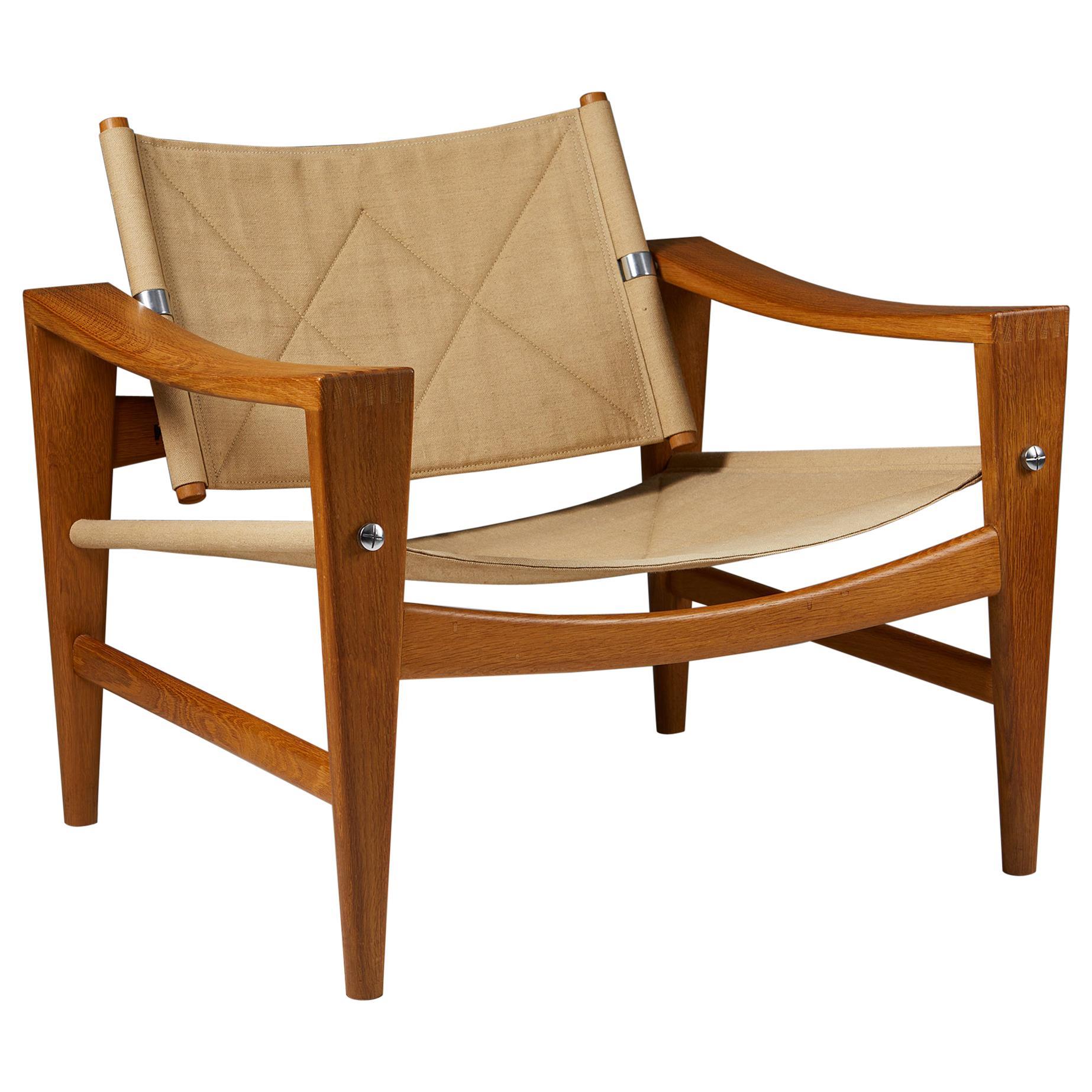 Armchair Designed by Hans J. Wegner for Johannes Hansen, Denmark, 1950's