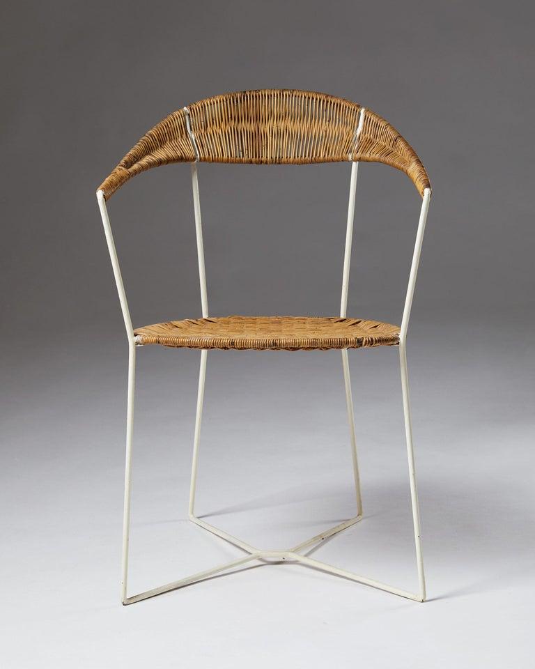 Scandinavian Modern Armchair designed by Ivar Callmander, Sweden, 1920s For Sale