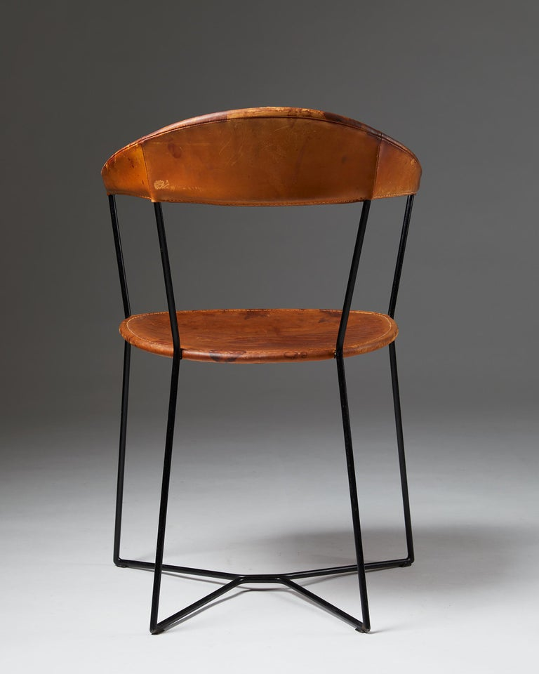 Mid-20th Century Armchair Designed by Ivar Callmander, Sweden, 1930s For Sale