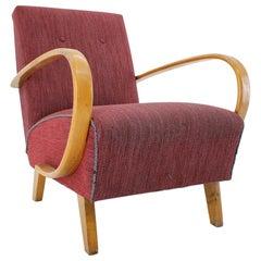Armchair Designed by Jindrich Halabala, 1950s