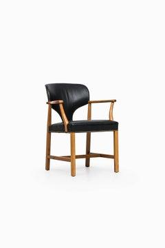 Armchair Designed by Josef Frank Produced by Svenskt Tenn in Sweden