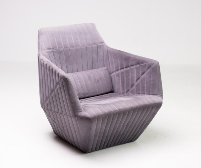 Modern Armchair Facett by Ronan & Erwan Bouroullec for Ligne Roset For Sale