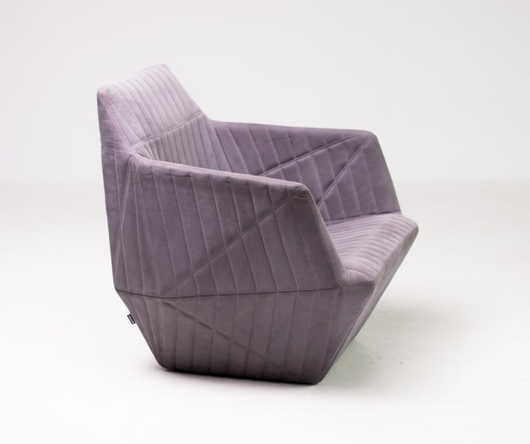 French Armchair Facett by Ronan & Erwan Bouroullec for Ligne Roset For Sale