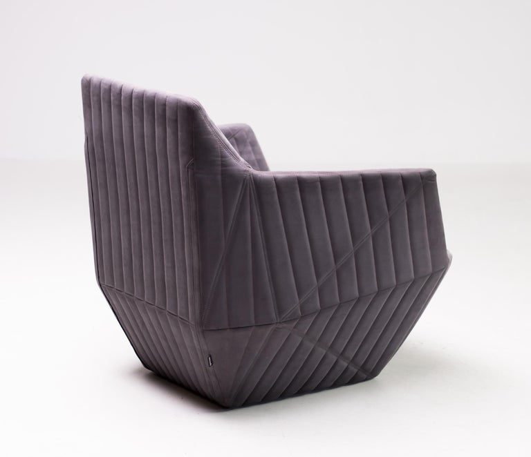 Armchair Facett by Ronan & Erwan Bouroullec for Ligne Roset In Good Condition For Sale In Dronten, NL