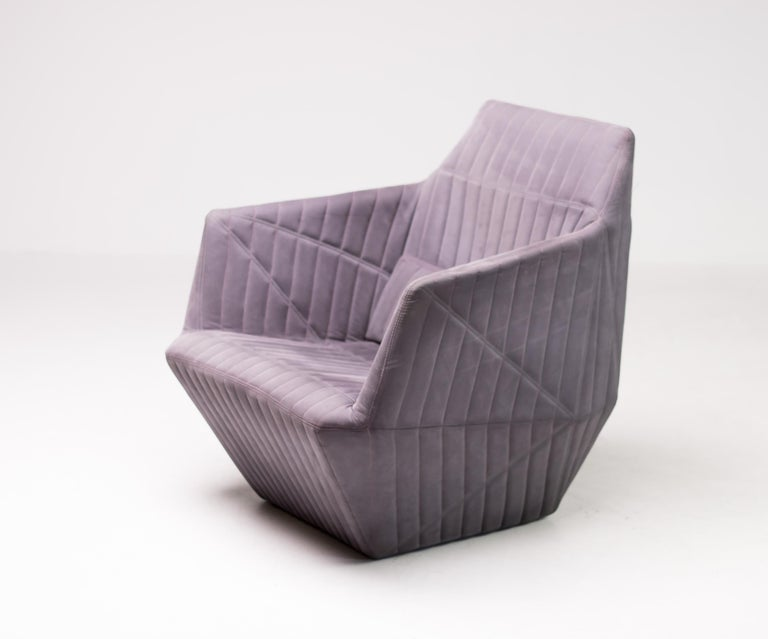 Armchair Facett by Ronan & Erwan Bouroullec for Ligne Roset For Sale 1