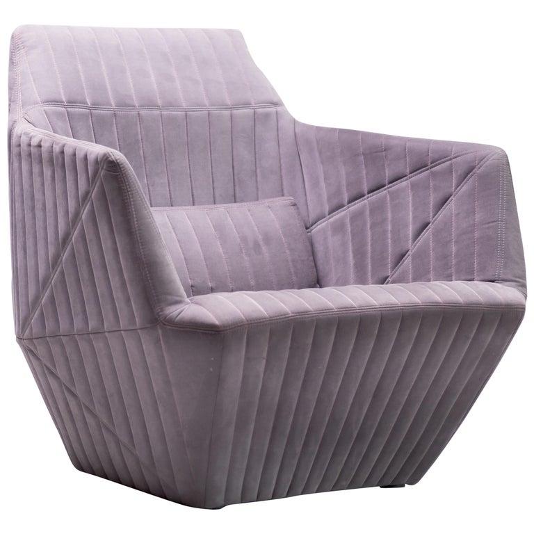 Armchair Facett by Ronan & Erwan Bouroullec for Ligne Roset For Sale
