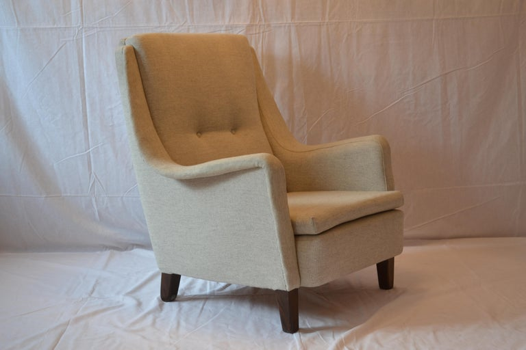 Armchair Fritz Hansen Designed by Folke Ohlsson for DUX, 1950s For Sale 2