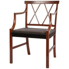 Armchair in Cuban Mahogany by Ole Wanscher