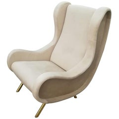 Armchair in the Style of Marco Zanuso, circa 1960