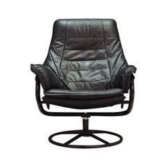 Armchair Leather 1960-1970 Vintage Danish Design