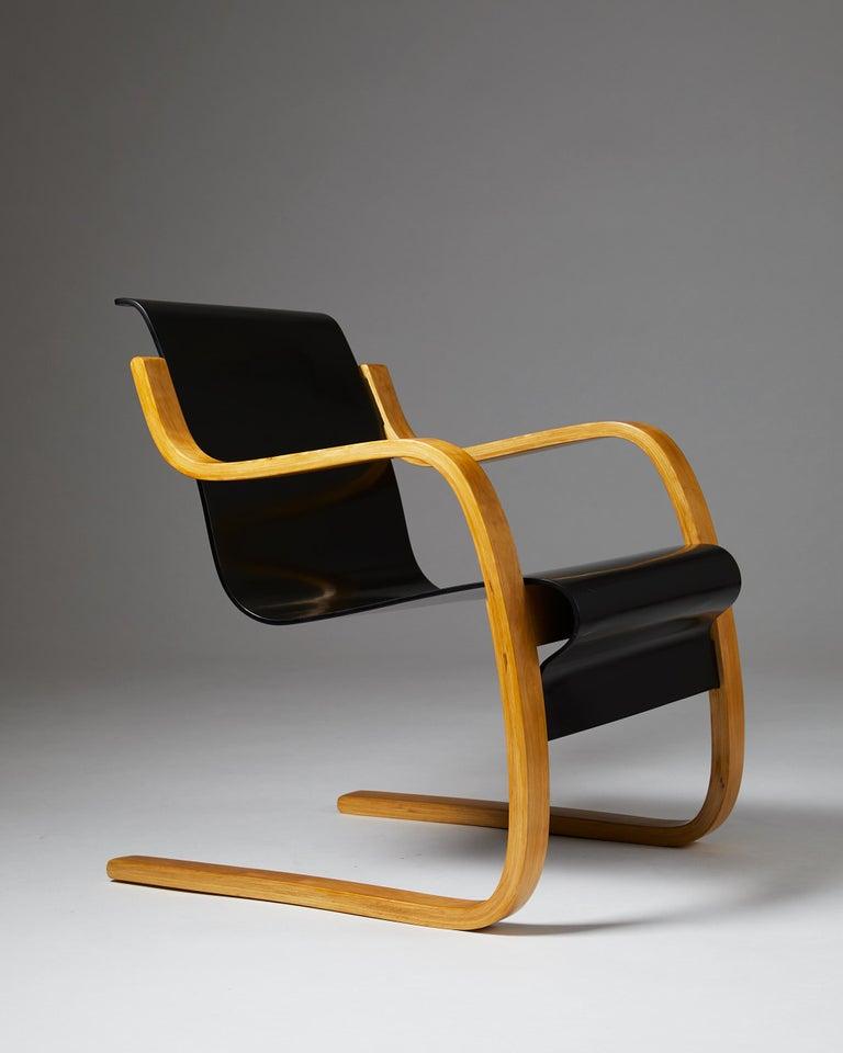 Scandinavian Modern Armchair 'Little Paimio' #42 by Alvar Aalto for Artek, Finland, 1930s For Sale