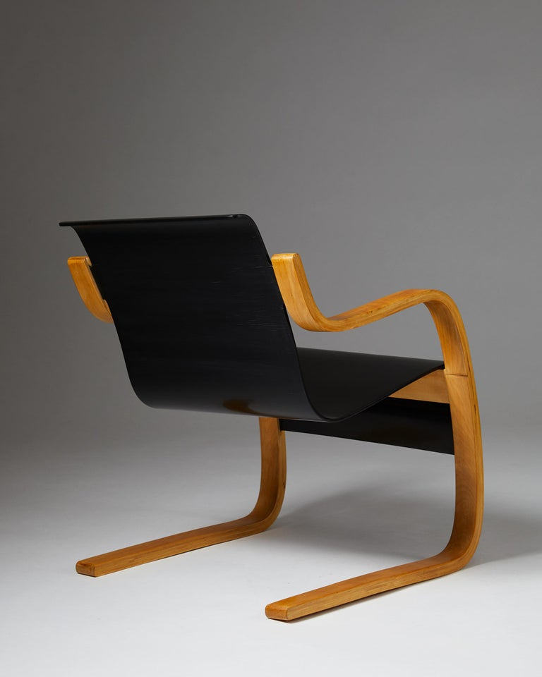 Armchair 'Little Paimio' #42 by Alvar Aalto for Artek, Finland, 1930s In Excellent Condition For Sale In Stockholm, SE
