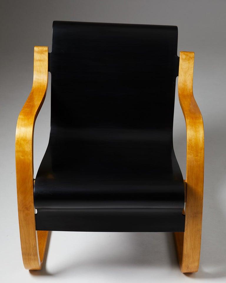 Mid-20th Century Armchair 'Little Paimio' #42 by Alvar Aalto for Artek, Finland, 1930s For Sale
