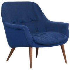 """Armchair Model """"1101"""" by Cassina from Italy, 1958 with the Manufacturers Label"""