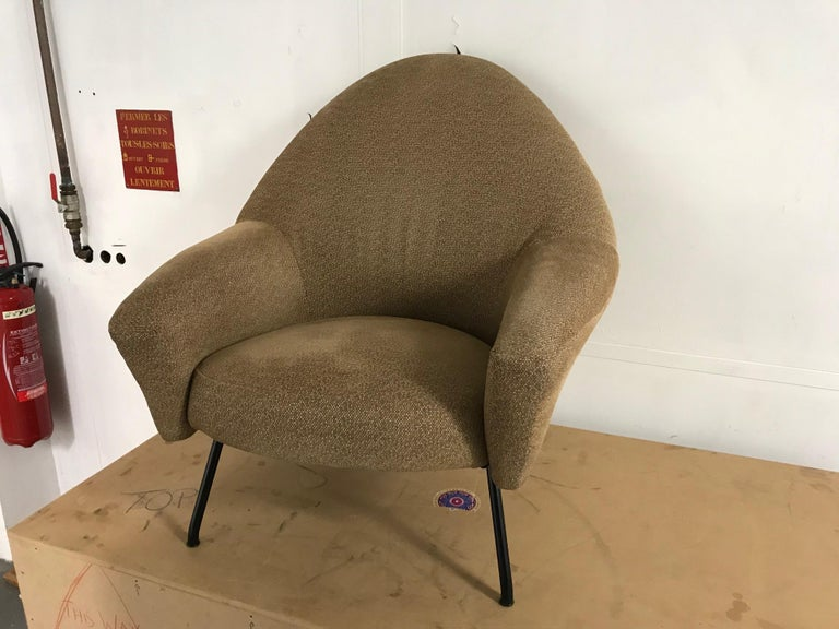 French Armchair Model 770 by Joseph-André Motte For Sale