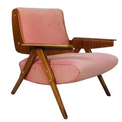 Armchair Model 831 by Gianfranco Frattini, Cassina, Italy, 1955