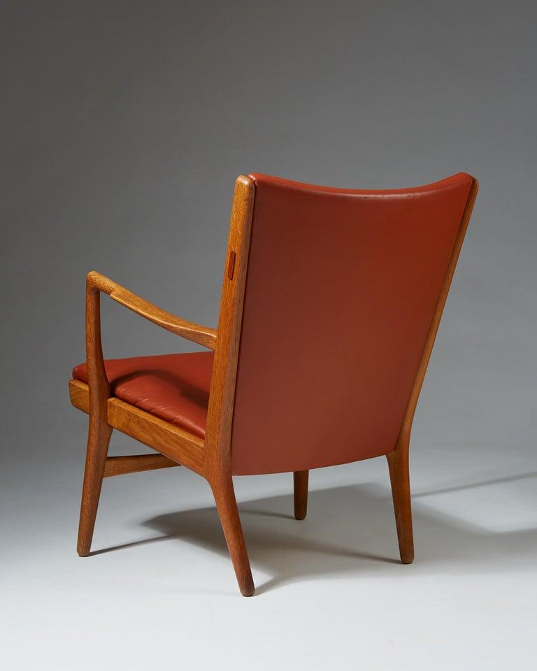 Mid-20th Century Armchair Model AP16 Designed by Hans Wegner for AP Stolen, Denmark, 1950s For Sale