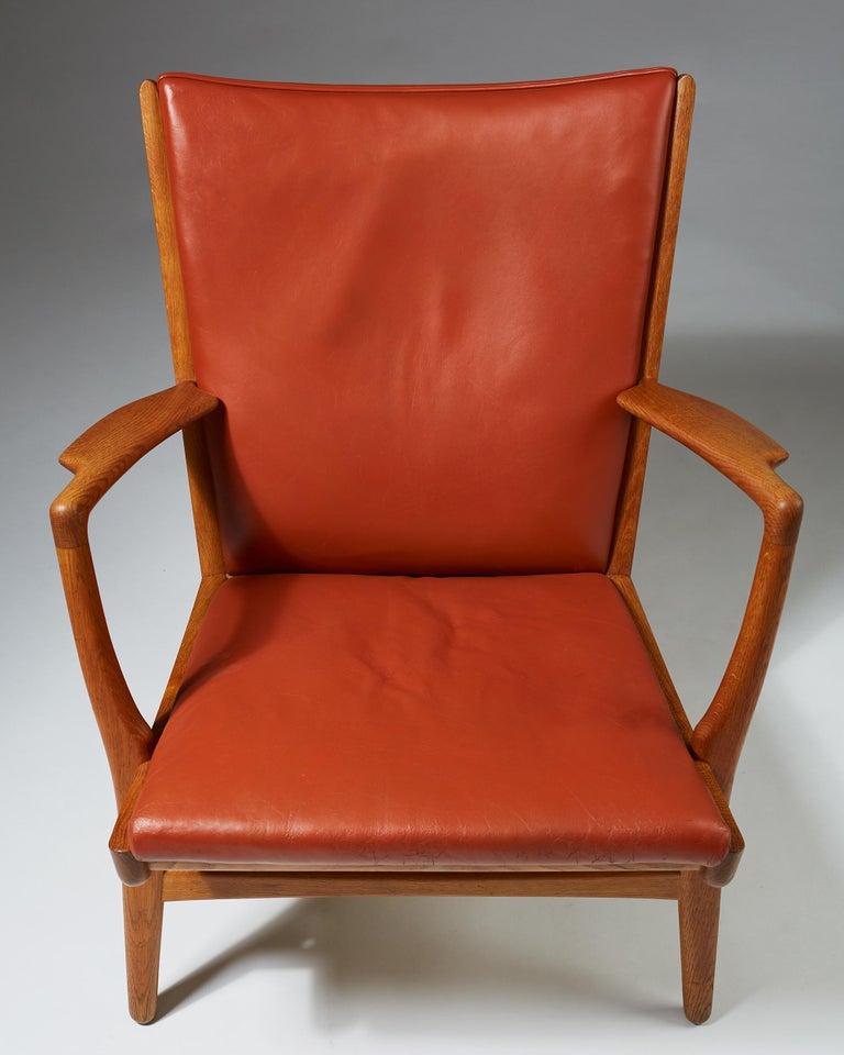 Armchair Model AP16 Designed by Hans Wegner for AP Stolen, Denmark, 1950s For Sale 2