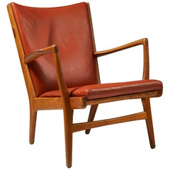 Armchair Model AP16 Designed by Hans Wegner for AP Stolen, Denmark, 1950s