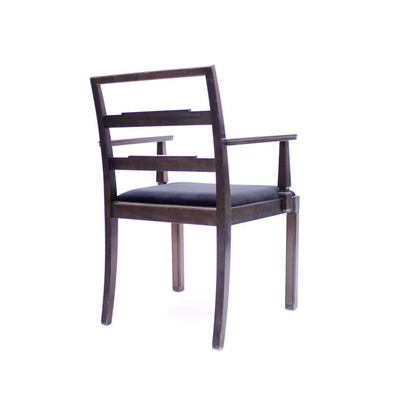Armchair, Model Empire, Attributed to Axel Einar Hjorth, Nordiska Kompaniet For Sale 3