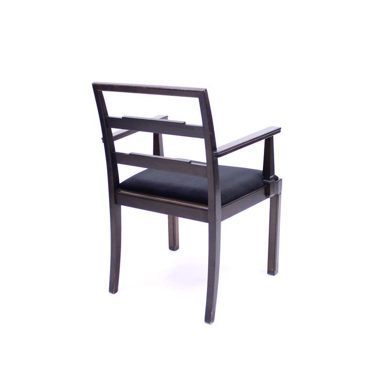 Armchair, Model Empire, Attributed to Axel Einar Hjorth, Nordiska Kompaniet For Sale 4