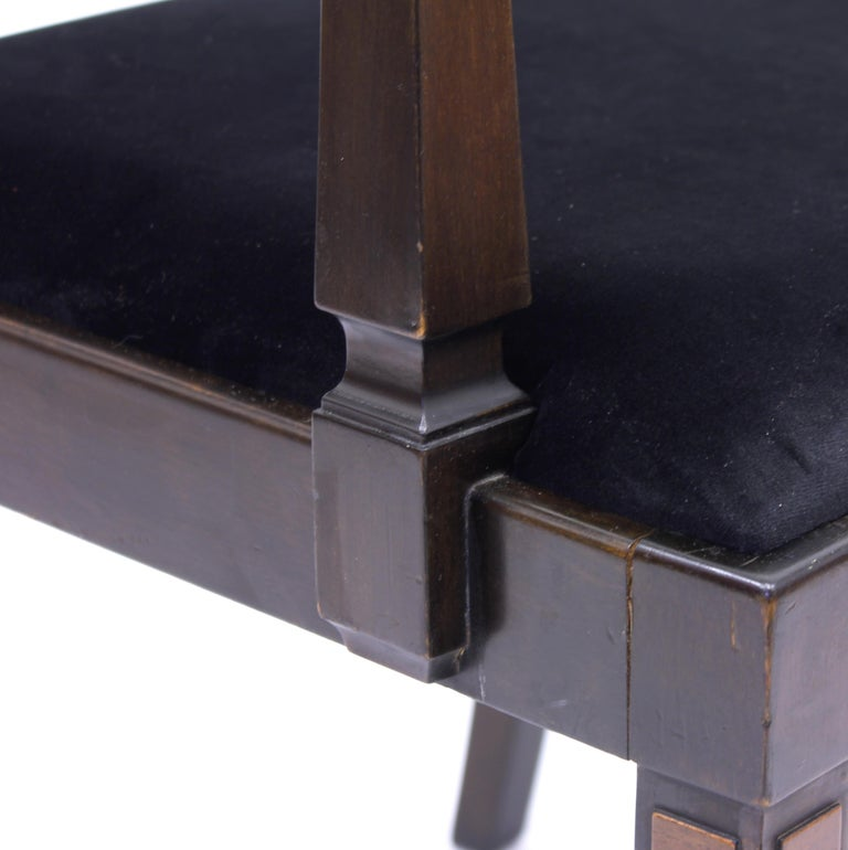 Armchair, Model Empire, Attributed to Axel Einar Hjorth, Nordiska Kompaniet For Sale 6