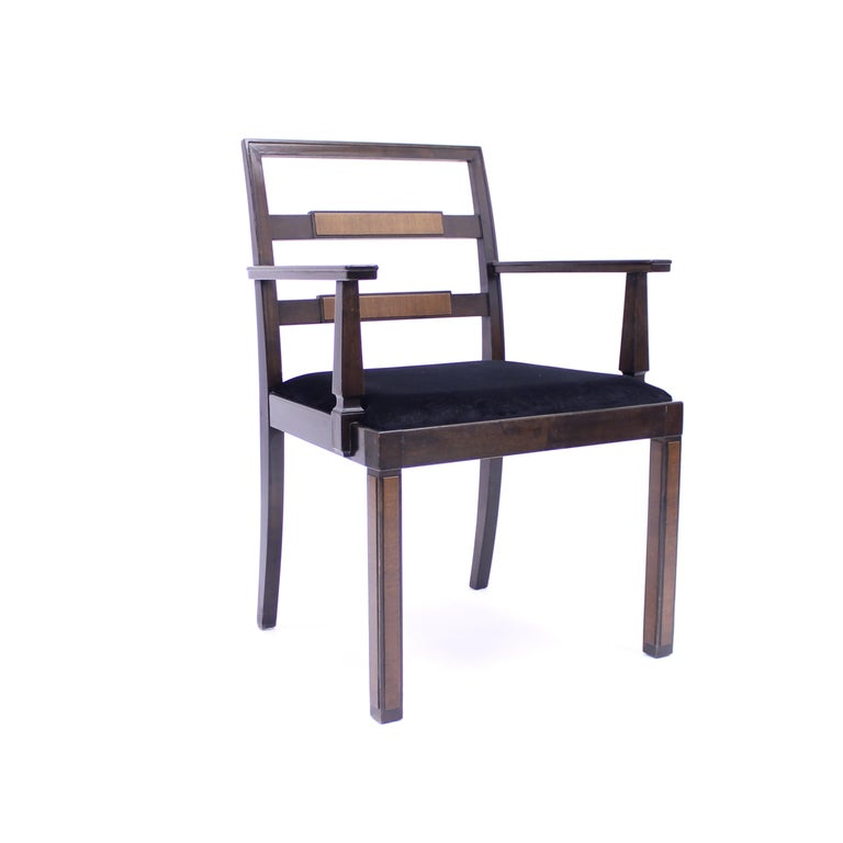 Scandinavian Modern Armchair, Model Empire, Attributed to Axel Einar Hjorth, Nordiska Kompaniet For Sale
