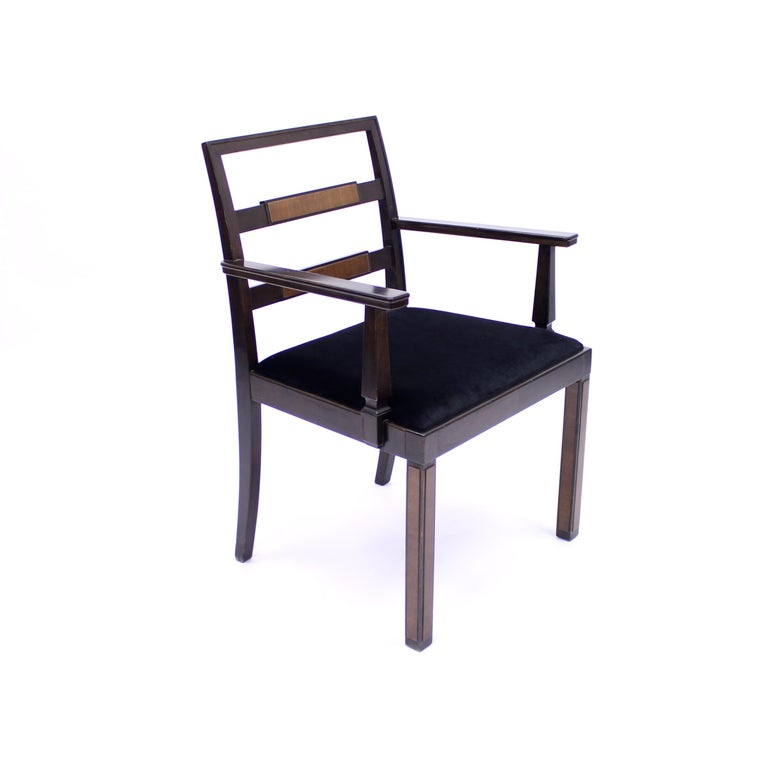 Armchair, Model Empire, Attributed to Axel Einar Hjorth, Nordiska Kompaniet In Good Condition For Sale In Uppsala, SE