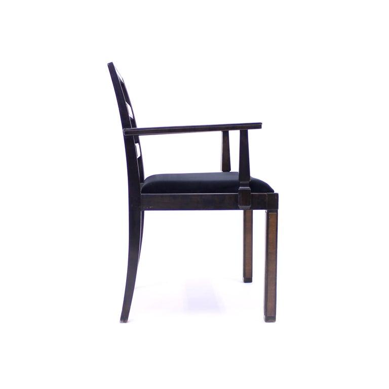 Armchair, Model Empire, Attributed to Axel Einar Hjorth, Nordiska Kompaniet For Sale 2