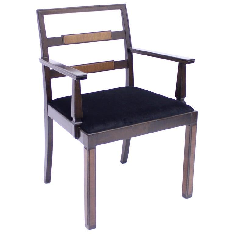 Armchair, Model Empire, Attributed to Axel Einar Hjorth, Nordiska Kompaniet For Sale