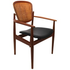 Armchair, Model FD, Designed by Arne Vodder and Manufactured France & Son, 1960s