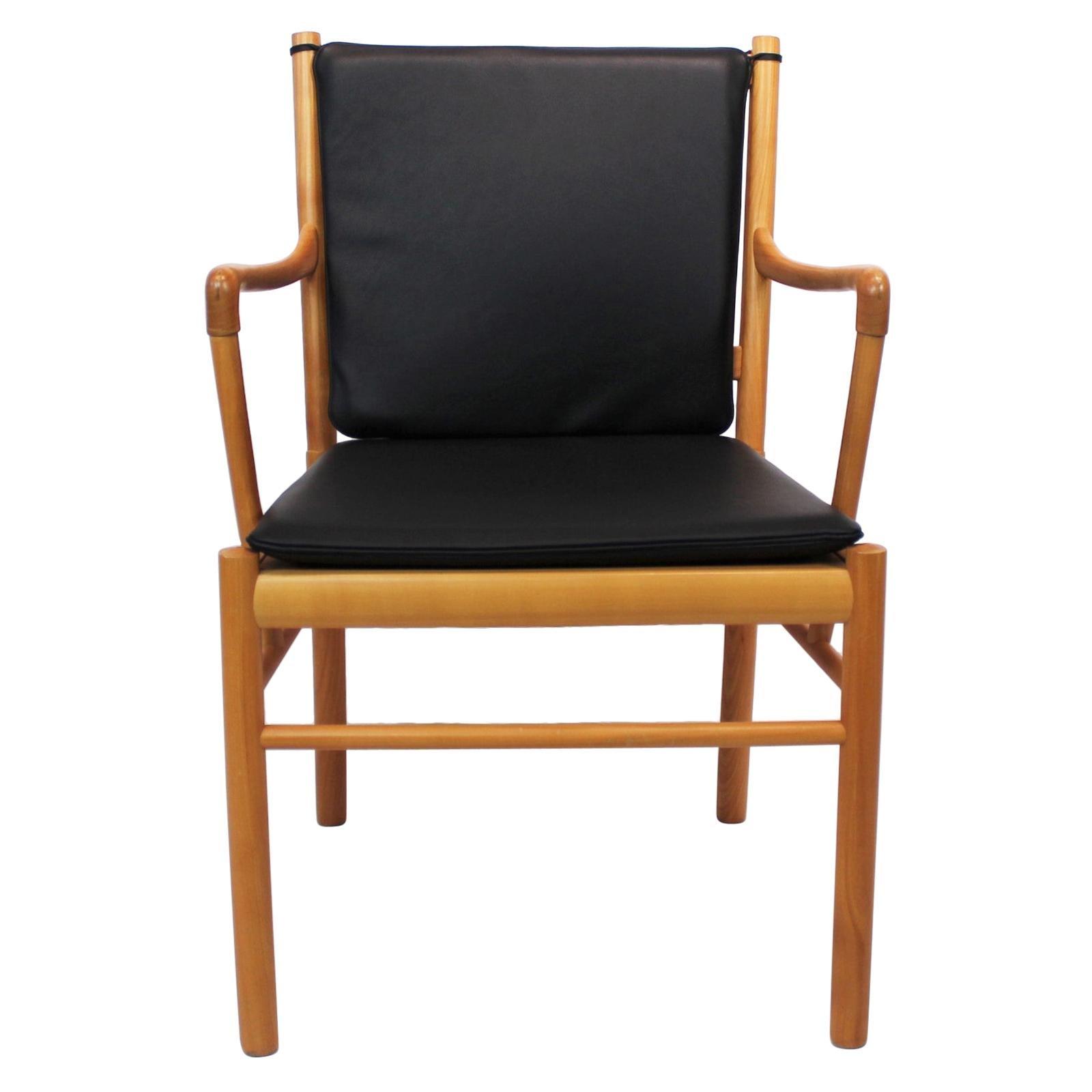 Armchair, Model PJ-301, of Cherry wood by Ole Wanscher