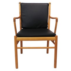 Armchair, Model PJ-301, of Cherry wood by Ole Wanscher