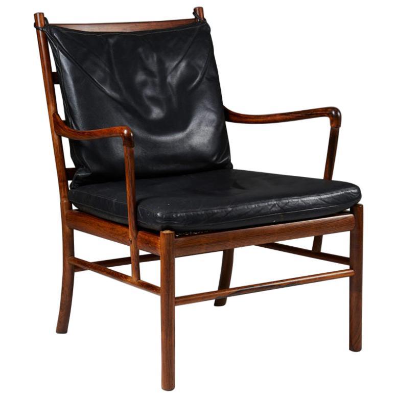"Armchair PJ 149, ""Colonial"", Designed by Ole Wanscher for P. Jeppesen, Denmark"