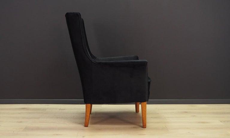 Late 20th Century Armchair Retro 1960-1970 Scandinavian Design For Sale