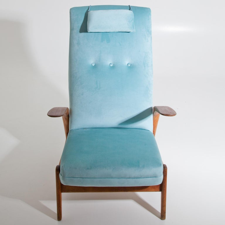 Armchair Rock'n Rest by Rolf Rastad & Adolf Relling for Arnestad Bruk, 1950s In Good Condition For Sale In Greding, DE
