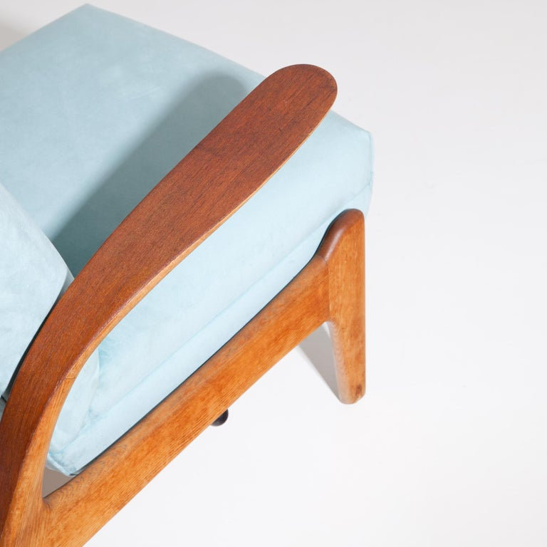 Mid-20th Century Armchair Rock'n Rest by Rolf Rastad & Adolf Relling for Arnestad Bruk, 1950s For Sale