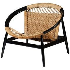 Armchair the Ring Chair Number 23 by Illum Wikkelsö for Niels Eilersen, Denmark